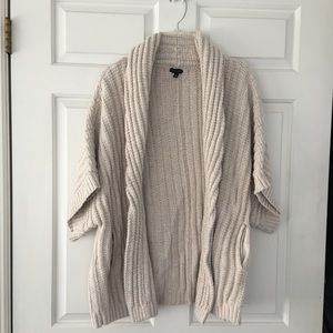 Talbots chunky cable sweater